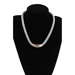 preiswerte Halsketten-Damen Achat Anhängerketten - Kreuz Silber Modische Halsketten Für Hochzeit, Party, Alltag