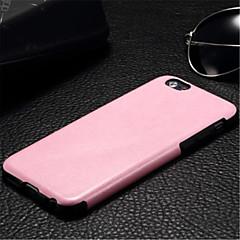 Недорогие Кейсы для iPhone 6-Кейс для Назначение iPhone 6s Plus / iPhone 6 Plus / iPhone 6s iPhone 6 Plus / iPhone 6 Кейс на заднюю панель Сплошной цвет Твердый Кожа PU для iPhone 6s Plus / iPhone 6s / iPhone 6 Plus