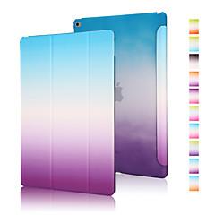 abordables Carcasas y Fundas para iPad Air-Funda Para Apple Origami Funda de Cuerpo Entero Gradiente de Color Cuero de PU para iPad Air