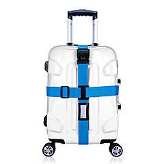 abordables Seguridad durante el Viaje-1 pieza Correa de Viaje para Maletas Candado con Código Duradero Ajustable Accesorios de Equipaje para Duradero Ajustable Accesorios de