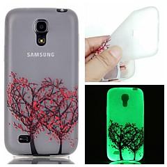 Na Samsung Galaxy Etui Świecące w ciemności Kılıf Etui na tył Kılıf Drzewo TPU Samsung S6 edge plus / S6 / S5 / S4 Mini / S3