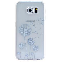 Mert Samsung Galaxy tok Átlátszó / Minta / Dombornyomott Case Hátlap Case Pitypang TPU Samsung S6 edge plus / S6 edge / S6 / S5 / S4 / S3