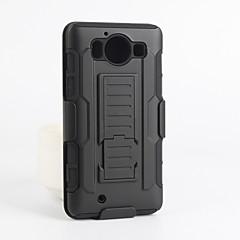 من أجل نوكيا حالة أغط / كفرات ضد الصدمات مع حامل غطاء خلفي غطاء درع قاسي PC إلى Nokia Nokia Lumia 950