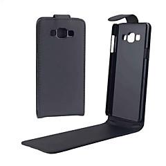 Na Samsung Galaxy Etui Etui Pokrowce Flip Magnetyczne Futerał Kılıf Jeden kolor Miękkie Skóra PU na SamsungA5 (2017) A3 (2017) A7 (2017)