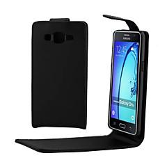 For Samsung Galaxy etui Flip Etui Heldækkende Etui Helfarve Kunstlæder for SamsungTrend 3 Pocket 2 On 5 J7 J5 J3 J1 Ace J1 Grand Prime