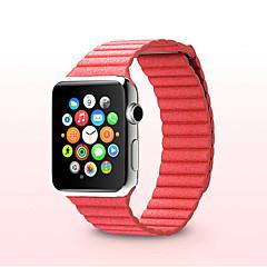 Watch Band na Apple Watch Series 3 / 2 / 1 Apple Opaska na nadgarstek Bransoletka skórzana Skóra naturalna