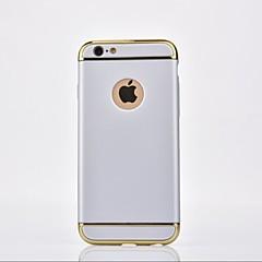 Недорогие Кейсы для iPhone X-Кейс для Назначение Apple iPhone X iPhone 8 Покрытие Кейс на заднюю панель Сплошной цвет Твердый Металл для iPhone X iPhone 8 Pluss