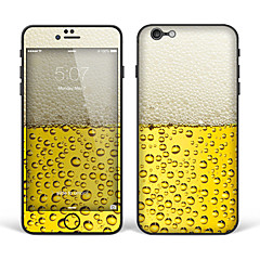 "iPhone 6 Plus/6S Plus Body Art Skin Sticker: ""Beer"" (Creative Series)"