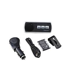 olcso Bluetooth autós készlet/Hands free-Bluetooth autós kihangosító készlet nyesett autó napellenzőre, Bluetooth 3.0 is támogatja a két telefon egyidejű