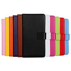billige Etuier til Nokia-For Nokia etui Pung Kortholder Med stativ Etui Heldækkende Etui Helfarve Hårdt Kunstlæder for NokiaNokia Lumia 1020 Nokia Lumia 930 Nokia