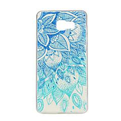 voordelige Galaxy A7 hoesjes / covers-Voor Samsung Galaxy hoesje Patroon hoesje Achterkantje hoesje Mandala TPU Samsung A7(2016) / A5(2016) / A3(2016) / A7 / A5 / A3
