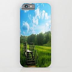 Для Кейс для iPhone 6 / Кейс для iPhone 6 Plus С узором Кейс для Задняя крышка Кейс для Пейзаж Твердый PCiPhone 6s Plus/6 Plus / iPhone
