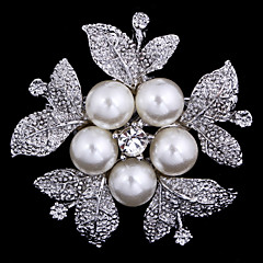 brosa floare femei pentru eșarfă de decorare petrecere de nunta, bijuterii fine, de culoare aleatorii