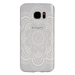 Na Samsung Galaxy S7 Edge Etui Pokrowce Szron Przezroczyste Etui na tył Kılıf Kwiaty PC na Samsung S7 Active S7 plus S7 edge plus S7 edge