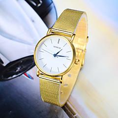 お買い得  レディース腕時計-女性用 クォーツ リストウォッチ ホット販売 合金 バンド チャーム ファッション シルバー ゴールド