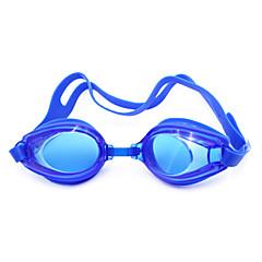 abordables Gafas de Natación-Gafas de natación Impermeable / Anti vaho Gel de sílice Plástico Blanco / Negro Verde / Rosa / Negro