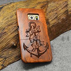 Na Samsung Galaxy Etui Etui Pokrowce Wzór Etui na tył Kılıf Tekstura drewna Drewno na Samsung S6 edge plus S6 edge S6