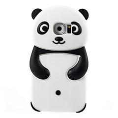 For Samsung Galaxy etui Mønster Etui Bagcover Etui 3D-tegneserie Silikone for Samsung S6 S5 S4 S3