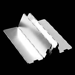OEM Alumínium ötvözet Tűzhely szélvédő ezüst Camping