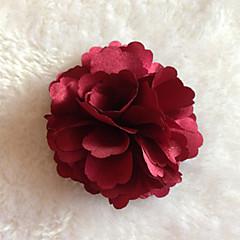 Χαμηλού Κόστους Καρφίτσες-z&X® ύφασμα λουλούδι καρφίτσα κόμμα / καθημερινή / περιστασιακή 1pc