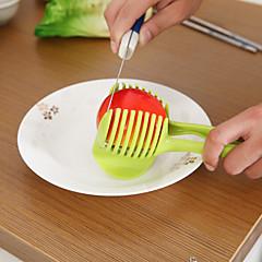 abordables Utensilios para frutas y verduras-1pc Herramientas de cocina El plastico Cocina creativa Gadget Cutter & Slicer para vegetal
