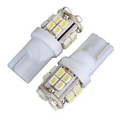 Недорогие Освещение салона авто-2pcs T10 Автомобиль Лампы 4W SMD 1012 340lm 20 Декоративное освещение / Подсветка для номерного знака / Подсветка для чтения