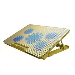 Ergonomic Adjustable Cooler Cooling Pad With Stand Holder PC Laptop Notebook