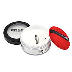 billige Ansigtssminke-4 Pudder Tør Mat Mineral Pudder Olie kontrol Længerevarende Naturlig Åndbart Hvidte Ansigt Hvid Naturlig Sennep