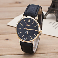GENEVA Women's European Style Fashion Strap Watch New Casual Wrist Watches Cool Watches Unique Watches