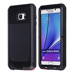 abordables Galaxy Note 5 Carcasas / Fundas-Para Samsung Galaxy Note Antigolpes Funda Cuerpo Entero Funda Armadura Metal Samsung Note 5