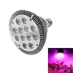 preiswerte LED-Birnen-12W 490-700 lm E26/E27 Wachsende Glühbirnen PAR30 12 Leds Hochleistungs - LED Blau Rot Wechselstrom 85-265V