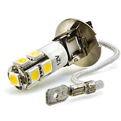 abordables Luces de Niebla de Coche-2pcs H3 Coche Bombillas 7W SMD 5050 680lm 7 LED Luz Antiniebla