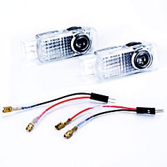 Недорогие Дневные фары-2pcs Автомобиль Лампы 3W 450lm 2 Светодиодная лампа Внешние осветительные приборы