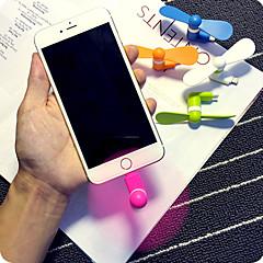 abordables Miniventiladores-práctico estupendo superpotencia Mini teléfono móvil mini ventilador para el iphone 5 / 5s / 6 / 6s / 6s / 6 más plus