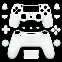 billige Klistermærker til PS4-udskiftning controller tilfældet for PS4 controller PS4 tilfælde (sort / rød / hvid)