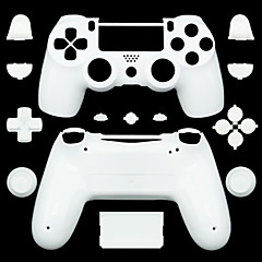 abordables Skins para PS4-Partes de reemplazo del controlador del juego Para PS4 ,  Partes de reemplazo del controlador del juego Silicona 1 pcs unidad
