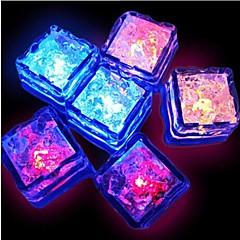 preiswerte Ausgefallene LED-Beleuchtung-12st Wasserfest Dekorations Beleuchtung / LED-Tassen & Gläser Kunststoff