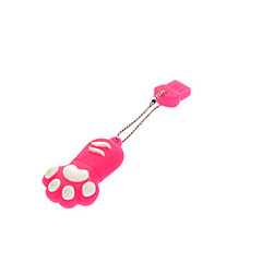 16GB Cute Dog Paw gomma USB Flash Drive