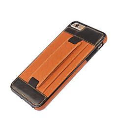 Для Кейс для iPhone 6 / Кейс для iPhone 6 Plus Бумажник для карт / со стендом / С узором Кейс для Задняя крышка Кейс дляГеометрический