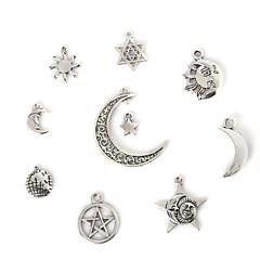 Amulettek / Medálok Fém Geometric Shape A Picture 2-18pcs