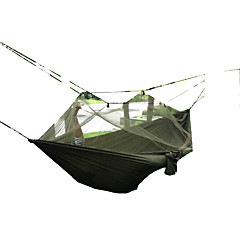Hammock With Mosquito Net Quick Dry Windproof Dust Proof Breathability Ultra Light(UL) Anti-Mosquito Hunting Hiking Fishing Camping Traveling