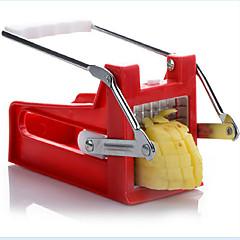 abordables Utensilios para frutas y verduras-Herramientas de cocina Acero inoxidable Cocina creativa Gadget Cutter & Slicer para vegetal
