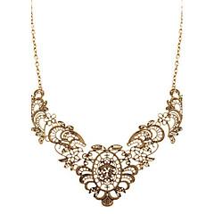 abordables Collares-Mujer Collares Declaración - Importante, Vintage, Moda Dorado Gargantillas Para Boda, Fiesta, Diario