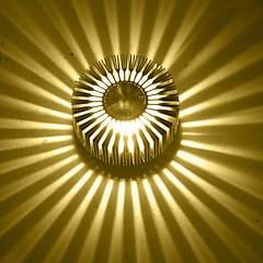 olcso Beltéri lámpák-AC 85-265 3W Integrirano LED svjetlo Modern/kortárs Galvanizált Funkció for LED Izzót tartalmaz,Hangulatfény Süllyesztett fali lámpák