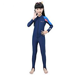 기타 여성의 탑스 / 하단 / 래쉬 가드 / 건식 잠수복 잠수복 방수 / 자외선 방지 건식 잠수복 1.5-1.9 mm 로얄 블루 S / M / L / XL / XXL 다이빙 / 파도타기