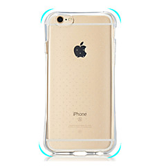 Para Funda iPhone 6 / Funda iPhone 6 Plus Antigolpes / Transparente Funda Cubierta Trasera Funda Un Color Suave TPUiPhone 7 Plus / iPhone