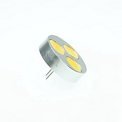 4W G4 LED Spotlight MR11 3 COB 250-300lm Warm White Cold White Natural White 3000K 6000K 6500K Dimmable DC 12 AC 12V