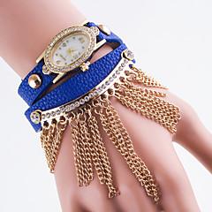お買い得  レディース腕時計-女性用 ファッションウォッチ クォーツ ブラック / 白 / ブルー ハンズ レディース - レッド ピンク ライトブルー
