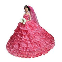 お買い得  バービー人形用アパレル-パーティー/イブニング ドレス ために バービー人形 ドレス ために 女の子の 人形玩具