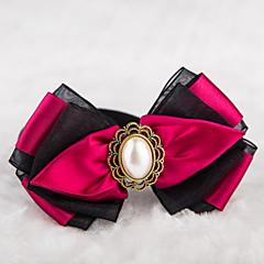 billiga HundHalsband, selar och koppel-Katt Hund Halsband Justerbara / Infällbar Söta och gosiga Textil Purpur Röd Grön Brun